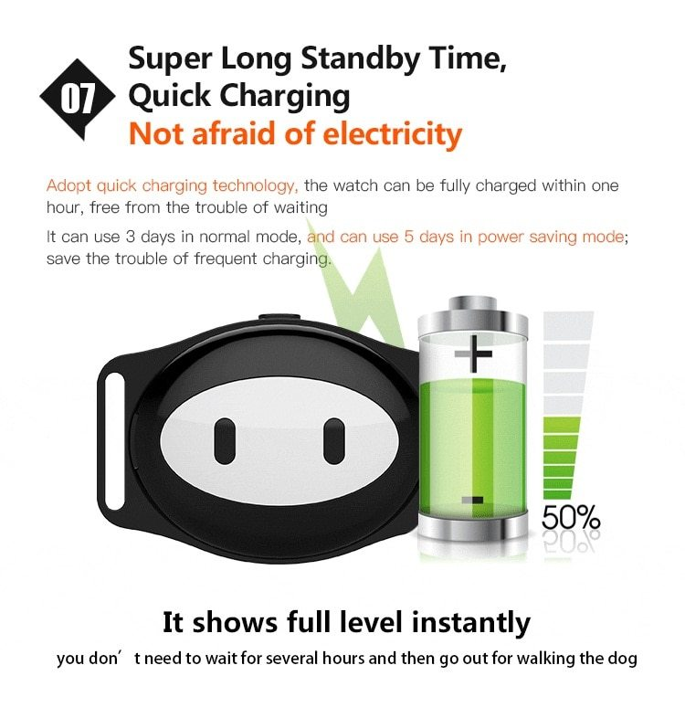 Mini Waterproof Dog GPS Tracker for Cats Pets with Collar Original Box 4 Frequency GPRS GPS+LBS Location Free APP Free Shipping allinonehere.com