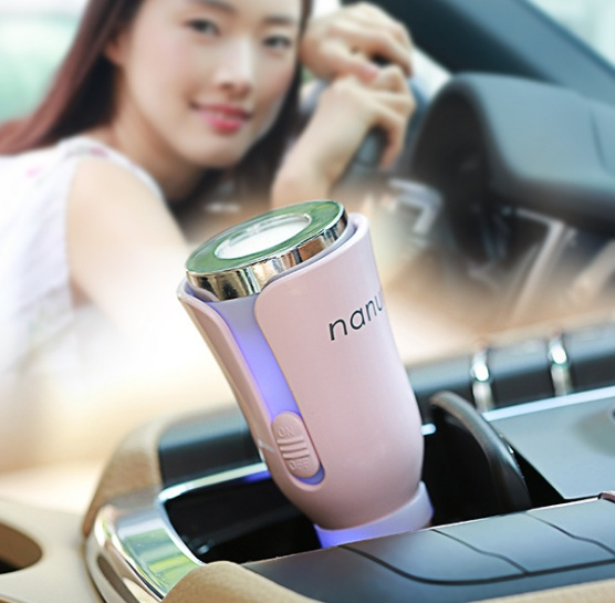 Car Aroma Diffuser with Dual Power USB Car Charger 5-Color allinonehere.com