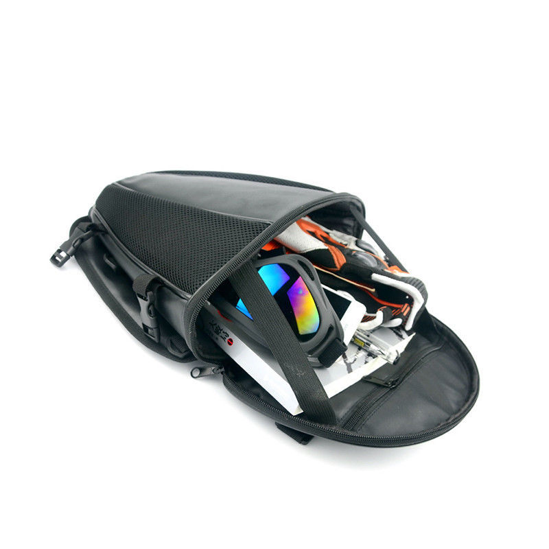 1X Motorcycle Tail Bag Back Seat Storage Backpack Carry Hand Shoulder Waterproof allinonehere.com