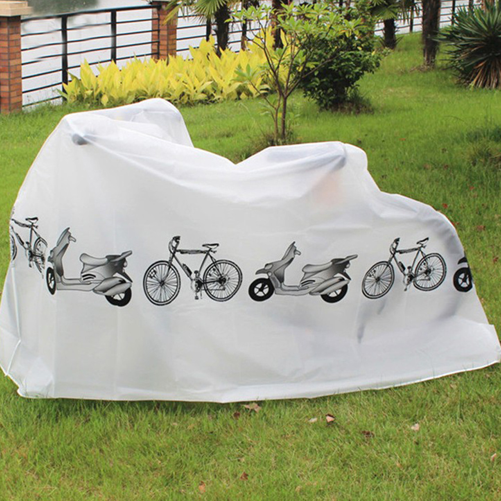 Hot Sale Outdoor Portable Waterproof Scooter Bike Motorcycle Rain Dust Cover Bicycle Protect Gear Cycling Bicycle Accessories allinonehere.com