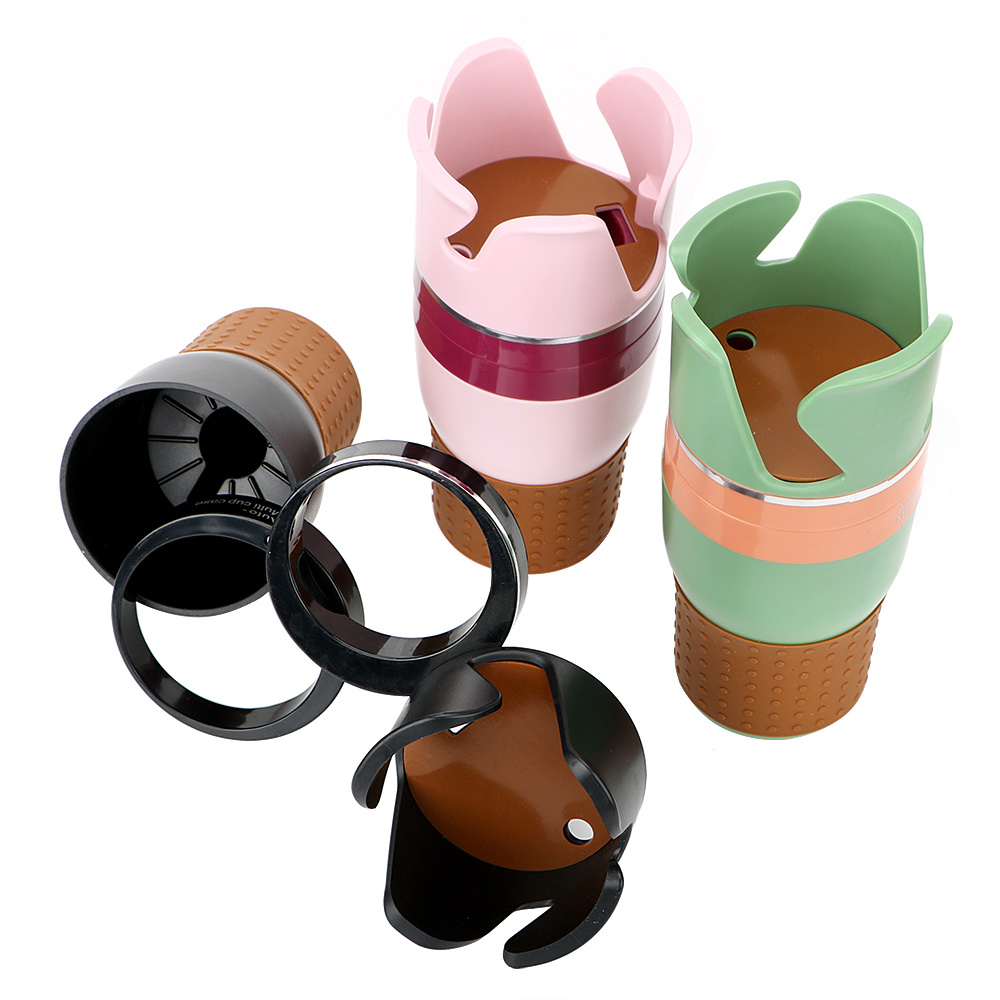 Car Cup Holders Car-styling Car Truck Drink Water Cup Bottle Can Holder Door Mount Stand ABS Rubber Drinks Holders allinonehere.com